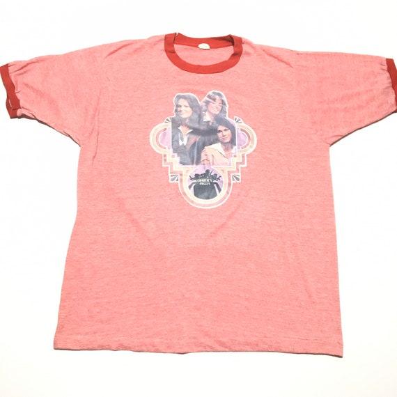 Vtg. 70s Charlie's Angels Ringer T-Shirt