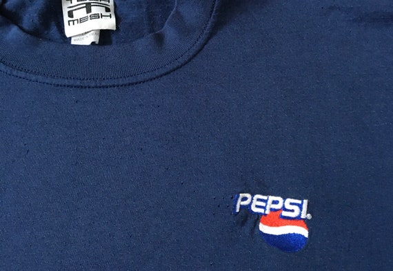 Vintage 90s Pepsi Cola Mesh T-Shirt - image 2