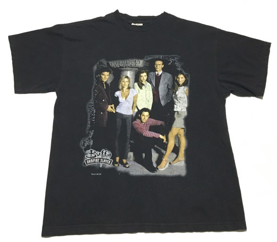 Vtg. 90s Buffy The Vampire Slayer Horror TV Show T