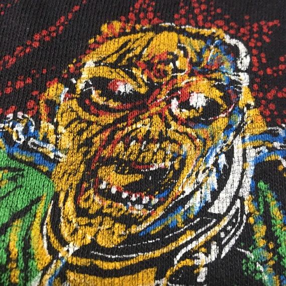 Vtg. 80s Iron Maiden Piece of Mind T-Shirt - image 4