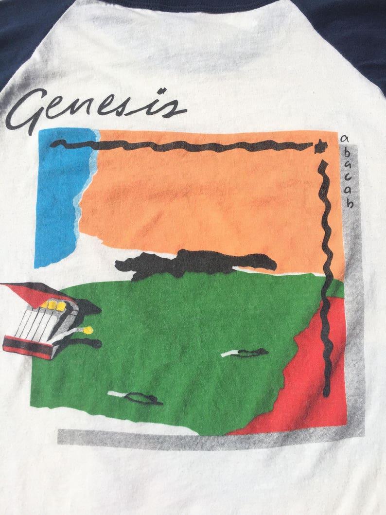 Vtg. GENESIS ABACAB 1981 1982 Tour Raglan T-Shirt   Size Small  373c97e7c