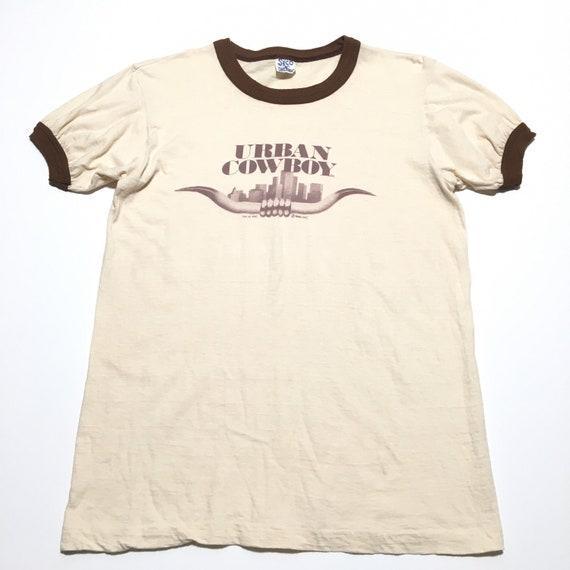 Vtg. 1980 Urban Cowboy John Travolta Film Promo T-