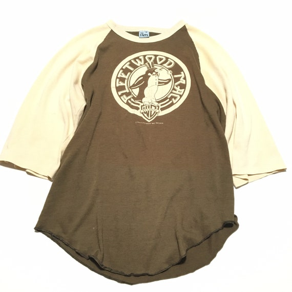 Vtg. 70s Fleetwood Mac Tusk Tour Raglan T-Shirt