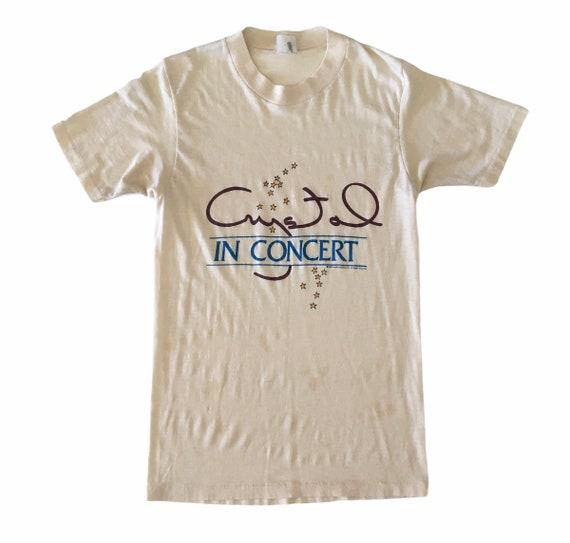 Vtg. 80s Crystal Gayle In Concert T-Shirt