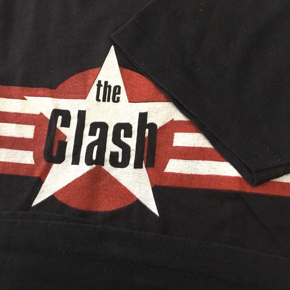 Vintage 80s The Clash Band T-Shirt - image 2