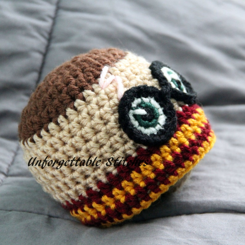 Crochet wizard hat