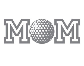 Golf MOM Decal FREE SHIPPING