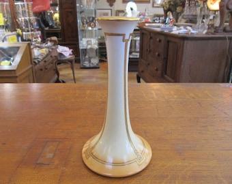 Limoges Tressemann & Vogt T and V Tall Candle Stick France