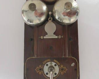 antikes Telefon Wandtelefon switch board wall telephone similar L.M. Ericsson Telefonzentrale