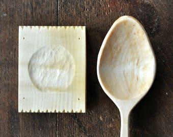 Hand Carved Wooden Spoon Rest Wood Wooden Spoon Handmade Wood Spoon Handmade Wooden Spoons Wabi Sabi Kitchen Decor Spoon Holder Wood