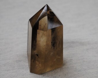 Polished Smoky Quartz Crystal, Healing Stone