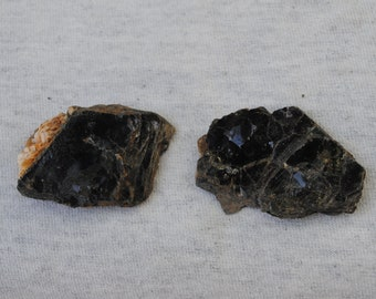 Biotite, Black Mica, Book of Mica, Healing Stone (2 Pcs.)