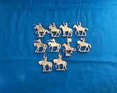 Semi-Flat Calvary Figures - 18th Century Toy Soldiers
