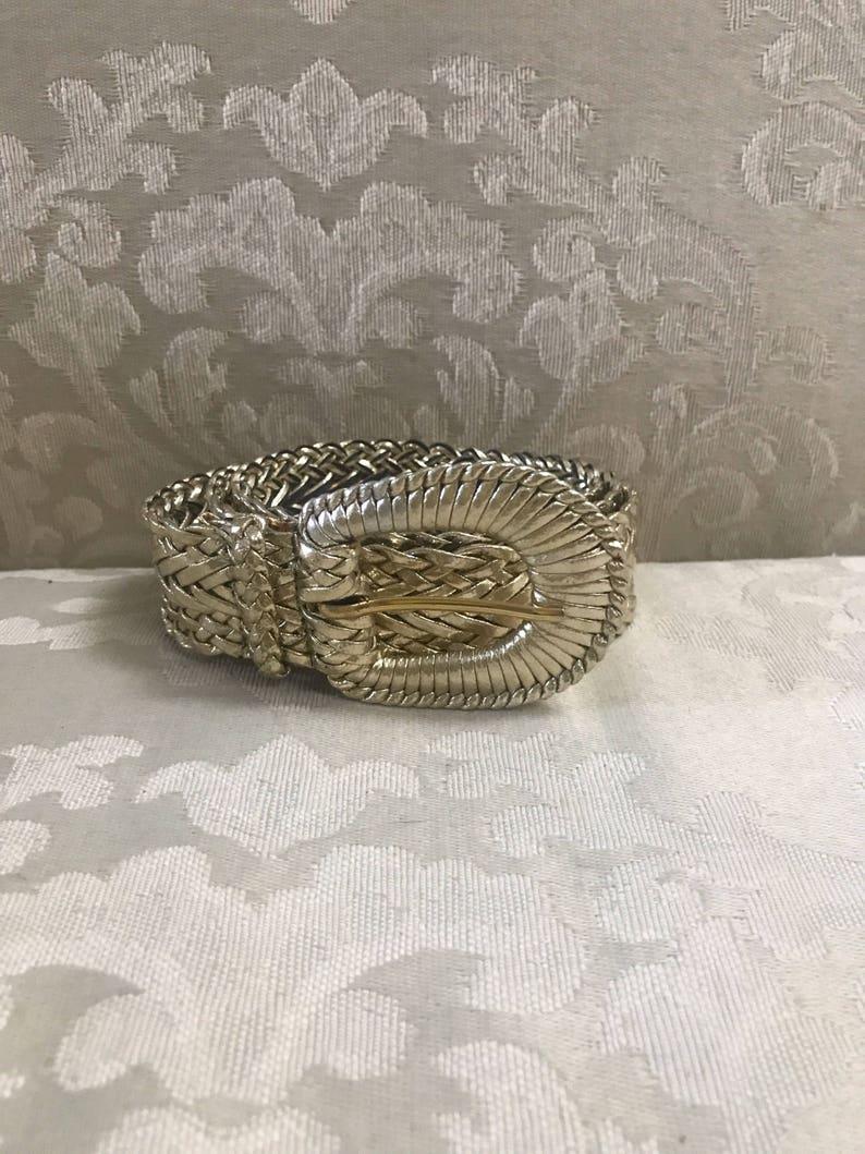 Weaved Belt Vintage Gold Belts Vintage Belts Gold Braided Belt Women/'s Belts Gold Belts Gold Belt Vintage Gold Belt Braided Belt