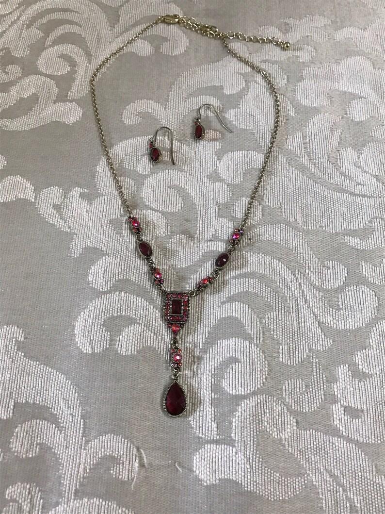 7bd000d25d51 Collar Vintage Avon Avon joyería collar Set Avon