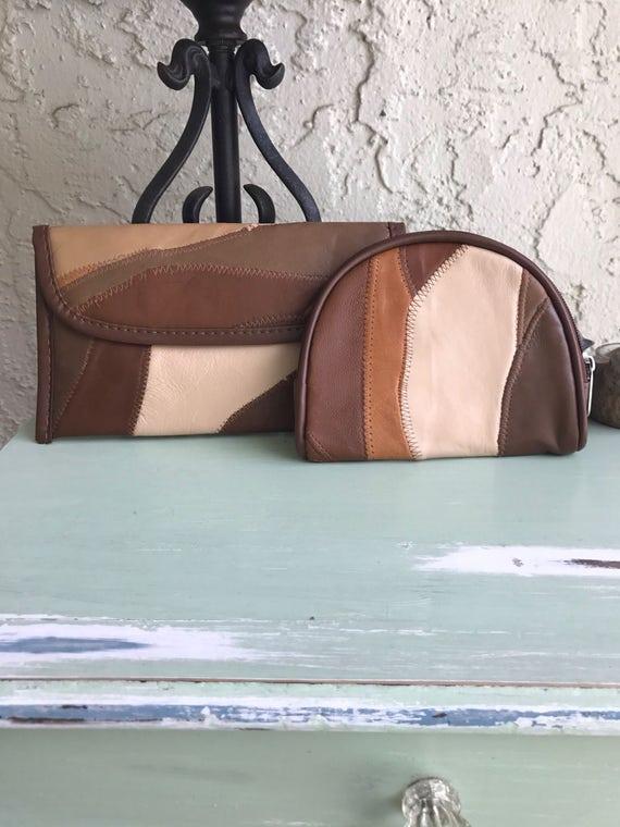 Vintage Cases, Patchwork Cases, Leather Pouch, Pat