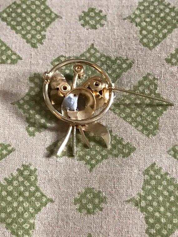 Vintage Pearl Brooch, Gold Brooch, Vintage Brooch… - image 2