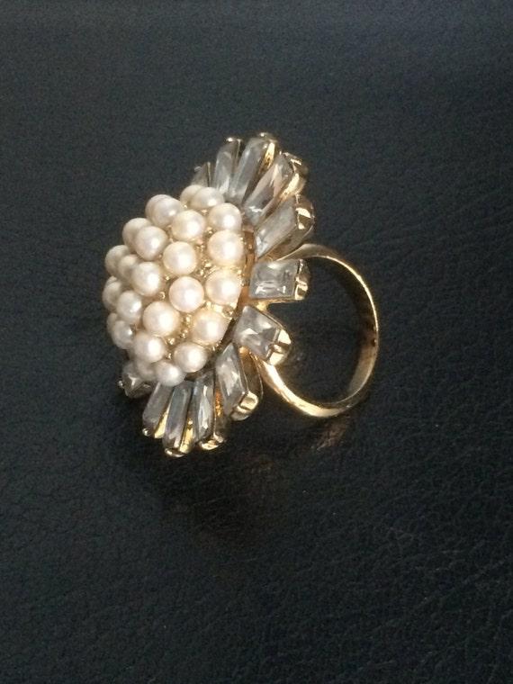 Vintage Dinner Ring, Cocktail Ring, Statement Ring