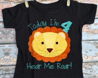 """4 Birthday T-Shirt /""""Happy Birthday to Me/"""" Boy Girl 4th Forth Four Party Clothes"""