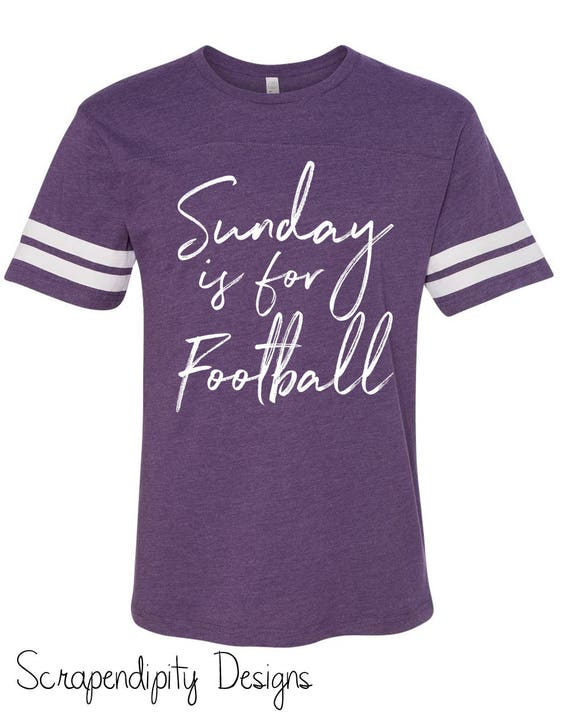 Sunday Football Tshirt Womens Football Jersey   Cute  c7c8eab341