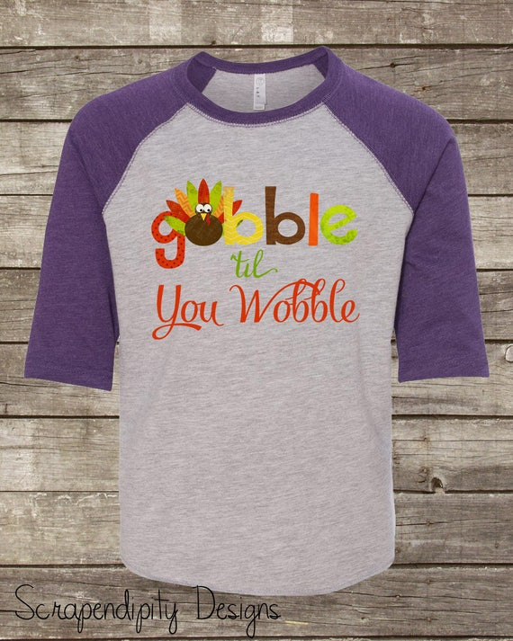 Turkey Face Youth/'s T-Shirt Funny Family Gobble Matching Thanksgiving Shirts