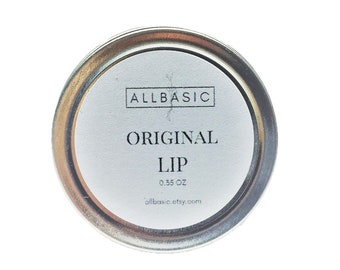 All Natural Beeswax Lip Balm