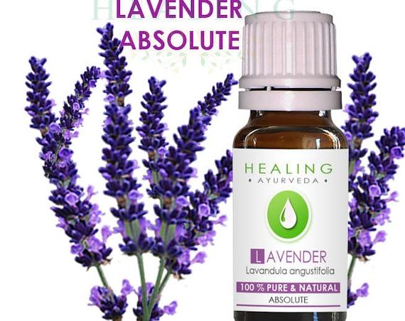 Lavender Absolute - Pure Lavender flower oil- Lavendula angustifolio - Skin care- bath- beauty oil- versatile oil