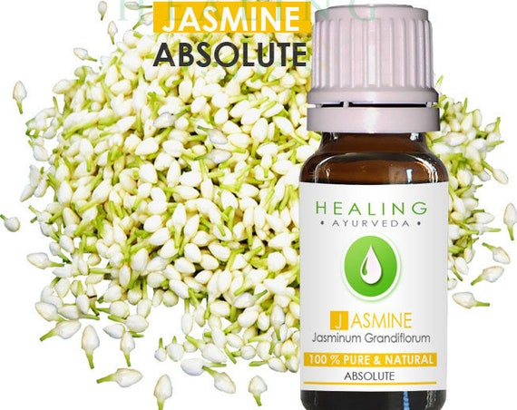Jasmine Absolute -Pure Jasmine Grandiflorum- Natural jasmine flower oil-  Undiluted Jasmine absolute - Sri Lankan Jasmine absolute- fijn