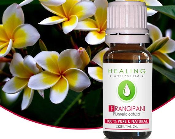 Frangipani essential oil- Pure natural esssential oil- 100% Frangipani flower oil- Plumeria oil- Natural  bath & beauty oil-Spa- 2 ML