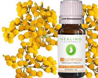 Helichrysum Italicaum- 100% Pure Helichrysum essential oil- Immortelle- Ayurvedic skin care oil- Aromatherapy oil- Undiluted Helichrysum oil