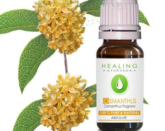 Osmanthus Absolute, 100% pure natural Osmanthus fragrans absolute , Sweet Osmanthus, Fragrant Olive, Osmanthus Blossoms, Flower absolute