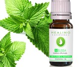 Melissa essential oil- Lemon balm- 100 Pure melissa oil, Ayurvedic essential oil, therapeutic melissa, Healing Aromatherapy oil, Mint balm