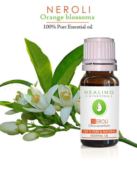 Neroli Essential oil- 100% Pure Therapeutic Neroli- Natural Orange blossoms oil- bath & beauty oil, Aromatherapy Skin care oil-Mature skin
