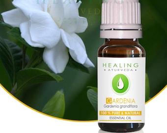Gardenia essential oil, 100% Pure essential oil, Natural Gardenia flower oil, Wild crafted Gardenia Grandiflora, Premium Aromatherapy oil