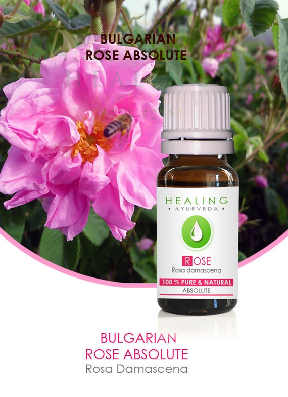 Natural Bulgarian Rose absolute- Pure Rose oil-Undiluted Rose oil- Rosa damascena- Bath & beauty-Premium Rose Absolute- Genuine Rose oil