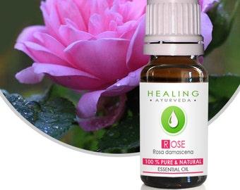 Pure Rose oil- 100% Rose Otto- Undiluted Rose Essential oil- Rosa damascena- Organic Rose oil- Bath & beauty-Premium Rose Otto-Turkish Rose