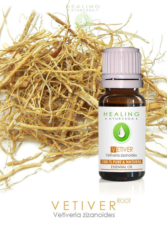 Vetiver essential oil- Pure Vetiver root oil- - perfume fixative, Spiritual oil, Ayurveda essential oil, Root oil, Aromatherpay, Massage oil