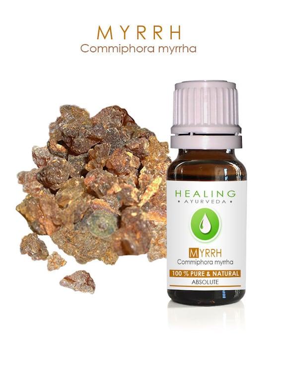Myrrh absolute- Pure Myrrh oil- Commiphora myrrha- Arabic Murr absolute- Spiritual oil-  Holy incense- Undiluted Myrrh essence- Aromatherapy