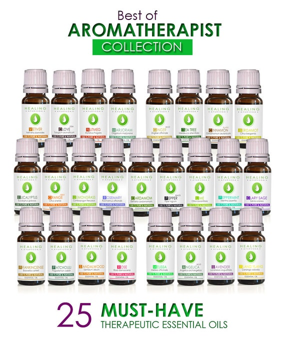 Essential oils set- SALE- Aromatherapist collection -  Aromatic healing oils- Aromatherapy starter kit - 25 x Therapeutic essential oils