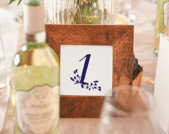 Wedding Table Numbers, Numbers 1-10, Instant Download, Wedding Printable Sign