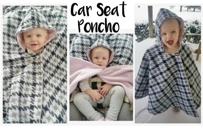 Car Seat Ponchos Ready To Ship Car Seat Covers Etsy