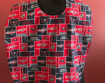 53dbeae61 Washington Capitals Adult bib  clothing protector