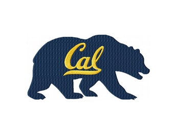 Cal Bears Machine Embroidery Digital Download
