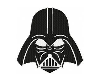 Darth Vader Star Wars Machine Embroidery Digital Download