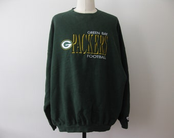 Vintage Green Bay Packers Sweatshirt Adult Mens 4XL Football 52f3a76fb