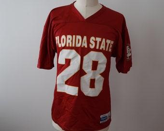 210720b3 Florida State Football Jersey FSU Seminoles Adult Mens Large