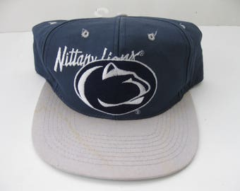 Penn State Nittany Lions snapback hat cap vintage Low Profile