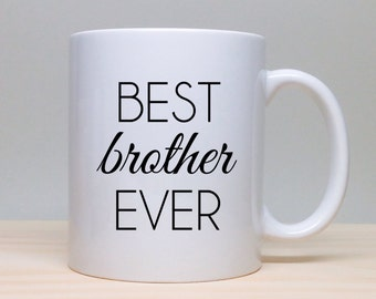 Coffee Mug Gift For Brother Birthday