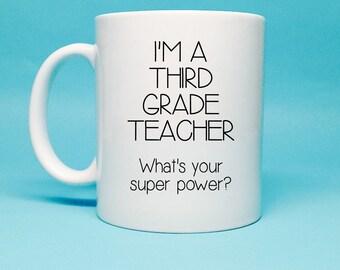 3rd Grade Teacher Etsy