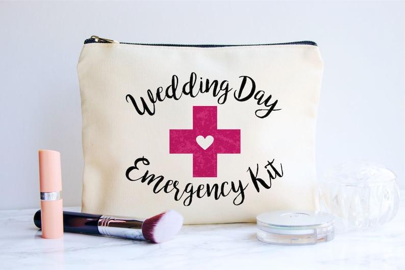 Bride Emergency Kit Wedding Emergency Bag Bride Gift Gift image 0